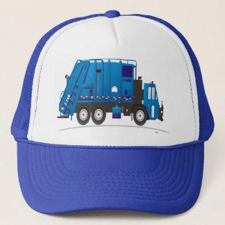 Casquette Bleu de camion d'ordures