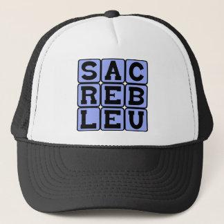 Casquette Bleu de Sacré, argot français