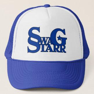 Casquette bleu et blanc de Starr de butin