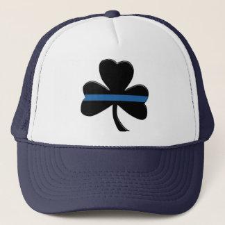 Casquette Blue Line mince : Shamrock