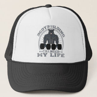 Casquette Body-building Changed My LIFE Bodybuilder forme