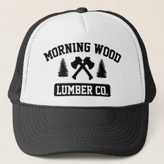 Casquette Bois de charpente en bois Cie. de matin
