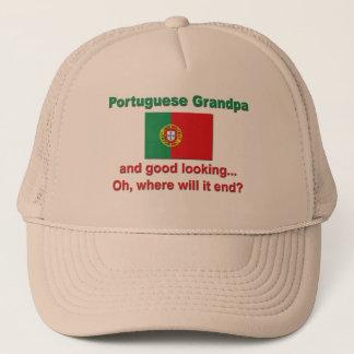 Casquette Bon grand-papa de Portugais de Lkg
