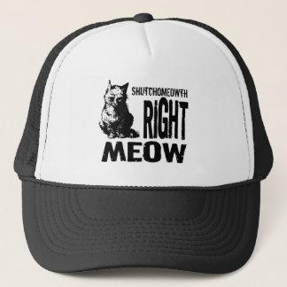 Casquette Bon MEOW de ShutchoMEOWTH ! Kitty mauvais drôle