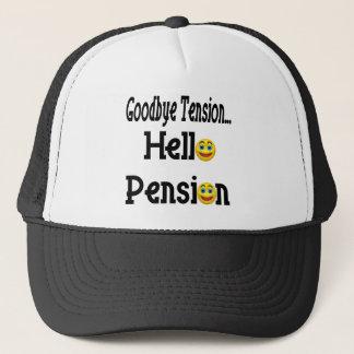 Casquette Bonjour pension de retraite