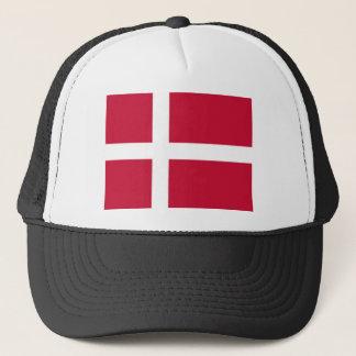 Casquette Bonne copie de drapeau du Danemark de couleur