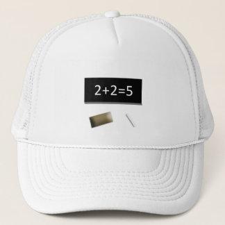 Casquette Bonnet blanc 2+2=5