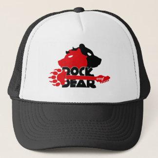 Casquette Bonnet de Routier Rock Bear Woof