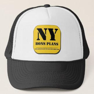 """Casquette """"BONS PLANS NEW YORK"""" Appli"""