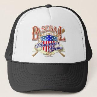 Casquette Bouclier vintage des Etats-Unis de base-ball