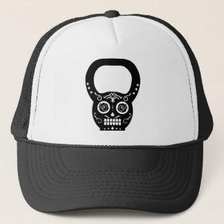 Casquette Bouilloire noire Bell de crâne de sucre