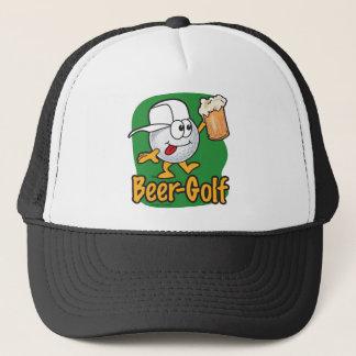 Casquette Boule de golf bue par golf de bande dessinée de