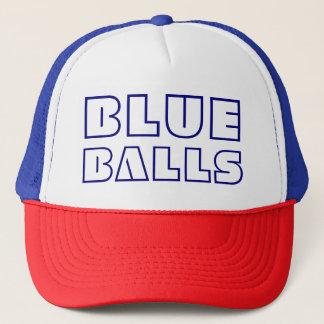 Casquette Boules bleues