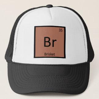 Casquette Br - symbole de Tableau périodique de chimie de