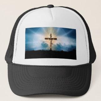 Casquette briller croisé de Jésus