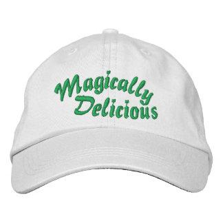 Casquette brodé comme par magie délicieux casquette brodée