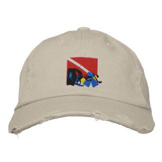 Casquette brodé de plongeur autonome casquette brodée