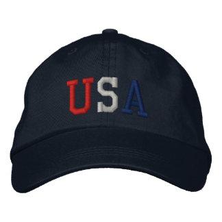 Casquette brodé de sports des Etats-Unis
