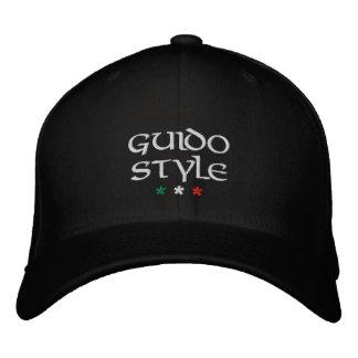 "Casquette brodé ""de style de Guido"""