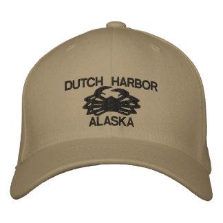 Casquette brodé néerlandais limule d'Alaska de