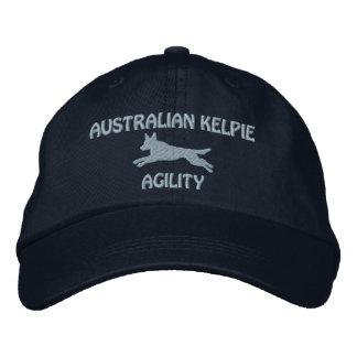 Casquette brodé par agilité australienne de Kelpie