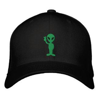 Casquette brodé par alien