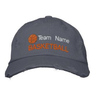 Casquette brodé par basket-ball personnalisé