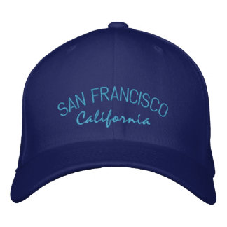 Casquette brodé par Californie de San Francisco