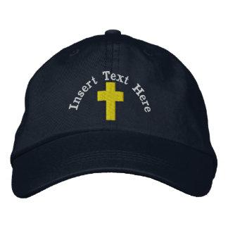 Casquette brodé par chrétien