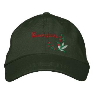 Casquette brodé par colibri casquette brodée