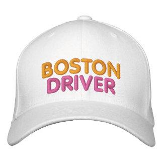 Casquette brodé par conducteur de Boston