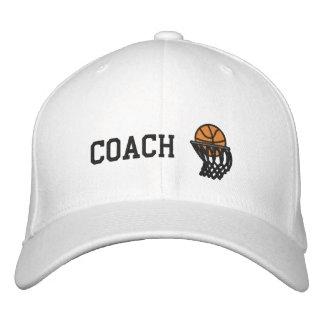 Casquette brodé par entraîneur de cercles de
