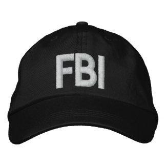 Casquette brodé par FBI