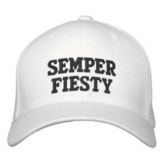 Casquette brodé par Fiesty de Semper