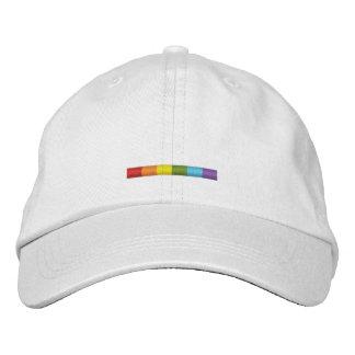 Casquette brodé par gay pride