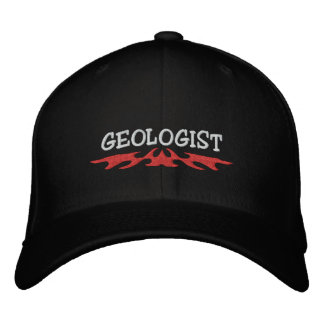 Casquette brodé par géologue casquette brodée
