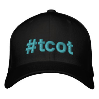 casquette brodé par hashtag de #tcot