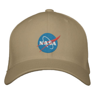 Casquette brodé par logo de la NASA
