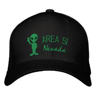 Casquette brodé par Nevada du secteur 51