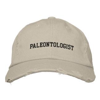 Casquette brodé par paléontologue