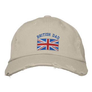 Casquette brodé par papa britannique