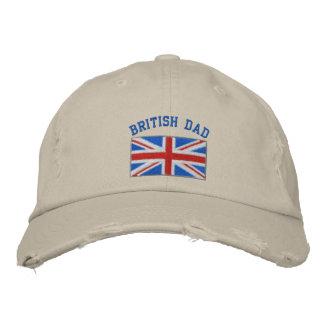 Casquette brodé par papa britannique casquette brodée