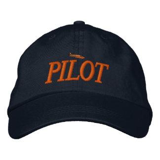 Casquette brodé par pilote d'avion
