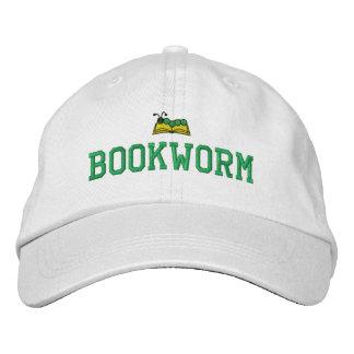 Casquette brodé par rat de bibliothèque casquette brodée