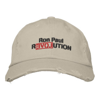 Casquette brodé par révolution de Ron Paul