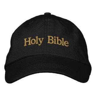 Casquette brodé par Sainte Bible Casquette Brodée