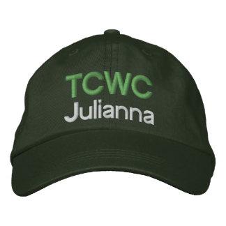 Casquette brodé par TCWC