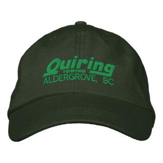 Casquette brodé par vert casquette brodée