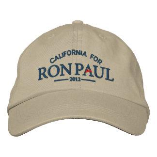 Casquette brodé personnalisable de Ron Paul