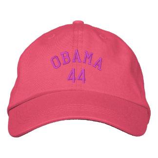 Casquette brodé rose d'Obama 44